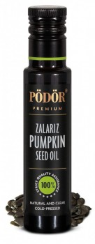 COLD PRESSED Zalariz pumpkin seed oil!