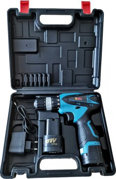 ONEX OX-1544 18V Lithium cordless screwdriver / drill set - 2 batteries