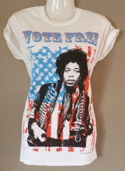 ladies jimi hendrix t-shirt