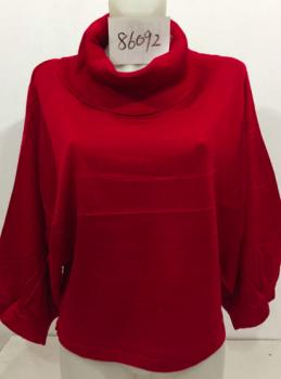 Women fashionable turtleneck pullover!