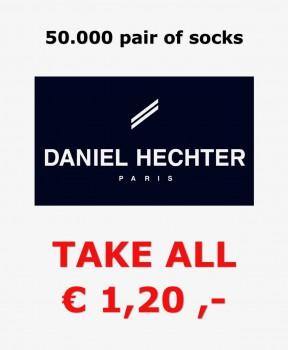 50.000 pairs of Daniel Hechter socks all sizes €1,20