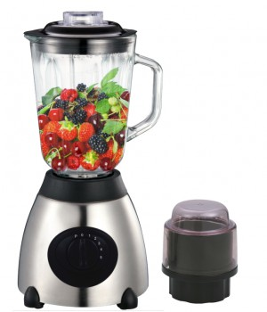 Herzberg HG-5009GL; Glass Blender 700W