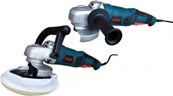 BOXER ANGLE GRINDER AND POLISHER - 2 in 1 set - 2450W - BX-991