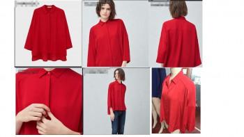 ladies blouse stokclots 99,000pcs