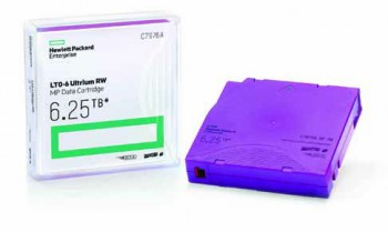 Hewlett Packard Enterprise 6,25TB LTO-6 RW MP Data Cartridge