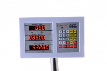 Cenocco CC-8004; Scale, Weighing Scale, Retail Business Use, 7 Unit Prices