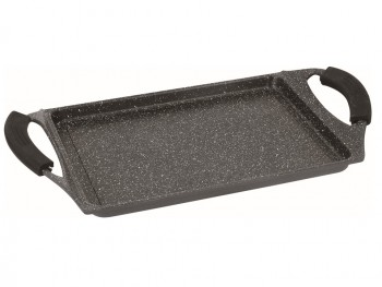 Royalty Line RL-NTG34M;Griddle, Grill Pan, Marble Coating 2-handle 34cm