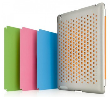 Belkin iPad 2 Emerge 024 Thin Smart Case/Cover/Skin Grey/Blue/Pink/Green/Orange