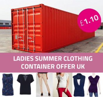 Ladies Clothing CONTAINER OFFER UK