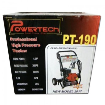 Powertech PT-190: Professional Petrol Powered High-Pressure Washer