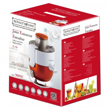 Royalty Line RL-PJ350: Juice Extractor - 500W (Max)