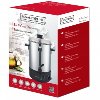 Royalty Line RL-HWD7.93: Hot Water Dispenser - 6L