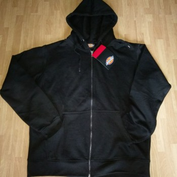 Men's Black zipper hoodies