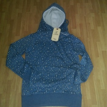 Ladies Printed Fleece Hooded Pullovers