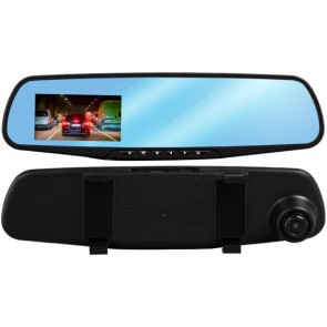 HA-MA PO-068 DashCam CarCam HD 1080p - Retrovisor interior con cámara HD