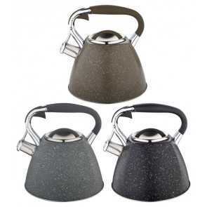 EDËNBËRG EB-1981 Whistling kettle - 3.0 liter - original stainless steel whistling kettle