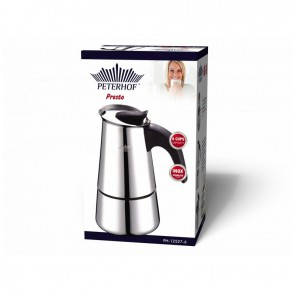 Peterhof PH-12527-6; Espresso Maker 6 Cups