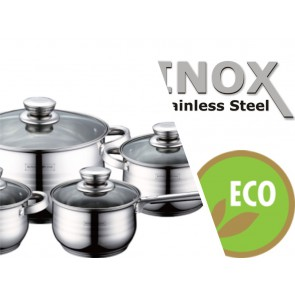 Royalty Line RL-1231; Cookware Set with glass lid 12 pcs