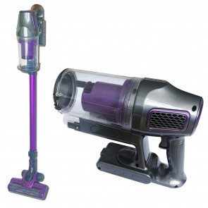 Herzberg HG-6015: Rechargeable Handheld Vacuum Cleaner Purple