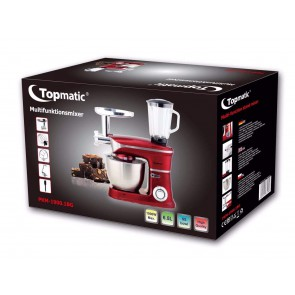 Topmatic TP-PKM-1900.1BG; Multifunctional robot 6.5l 1900W Max Red