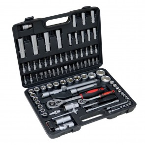 Kraftmax Professional Tool KF-94; 94 PCS Socket Set (1/4' & 1/2')