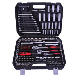 Kraftmax Professional Tool KF-216; 216 PCS Socket Set(1/4' & 3/8'&1/2')