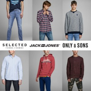 JACK & JONES/ SELECTED/ ONLY & SONS A/W MEN'S MIX - FROM 7,85 EUR/PC