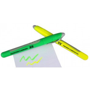 two fluorescent markers set, 1-4mm, yellow and green
