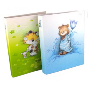 ring binder A4, VERTE, mix of designs, 1 pcs.
