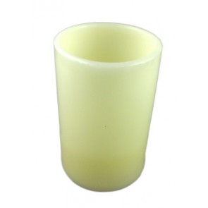 paraffin candle with LED lamp