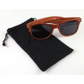sunglasses in a black bag