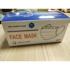 Mascarilla desechable de 3 PLY