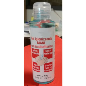 antibacterial hand gel 125 ml