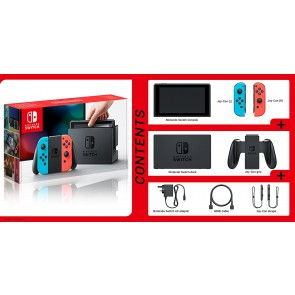 Nintendo Switch Console ( Neon )
