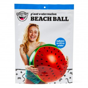 BigMouth Inc Inflatable Beach Ball Watermelon