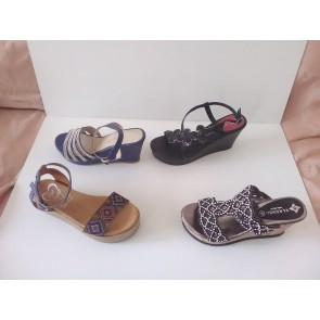 woman shoes genuine leather