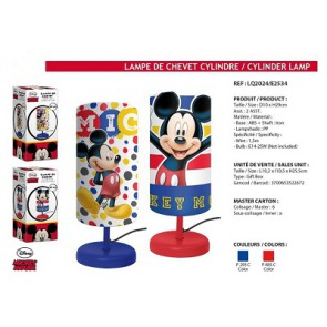 Disney lamps on stock at textiel trade