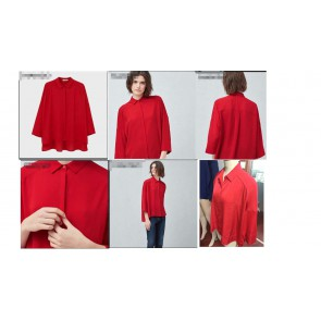 ladies blouse stokclots 99,000pcs