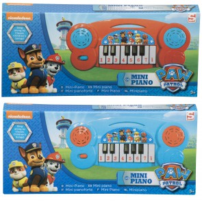 paw patrol mini piano