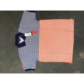 Mens stripe uspa polo
