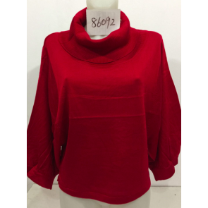 Women fashionable turtleneck pullover!