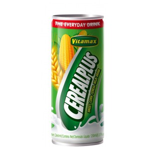 Vitamax cereals in a can