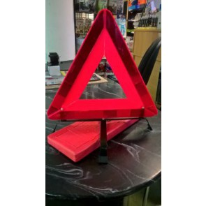 Big size warning triangle