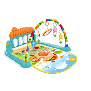 Baby Animal Friends Play Mat - Interactive Play Mat