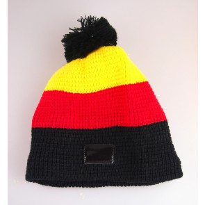 winter hat with tassel