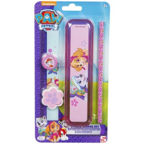 Paw Patrol 5 piece stationary set .