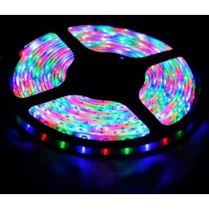 Tira LED the colores RGB the 4.5 m con adapter and mando a distancia ST-013