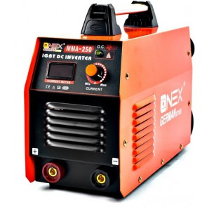 ONEX OX-3010 Welding Machine / Welding Machine 250 A MMA / IGBT - Incl. Welding cap, bik hammer and brush