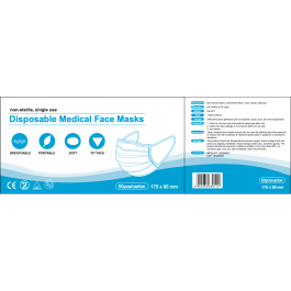 Disposable Medical Face Mask 3 Ply