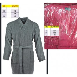£2.5 bathrobes-100% cotton-Turkish made
